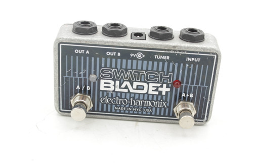 Electro-Harmonix Switchblade+ Plus Line Selector Channel Guitar Effects Pedal
