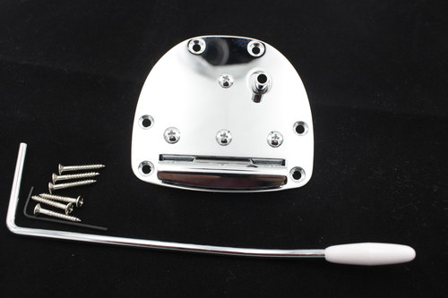 Jaguar / Jazzmaster Style Left Hand Chrome Guitar Tremolo System - ships from US