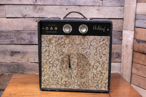 Holiday Model 204 Vintage Small Tube Guitar Combo Amp Amplifier