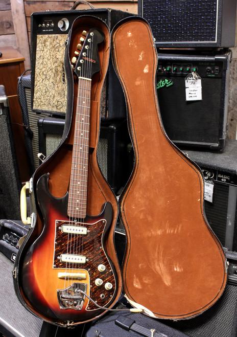 Hy-Lo Vintage 1964 Hoshino Ibanez Model 1502 Electric Guitar w/ Orig. Case