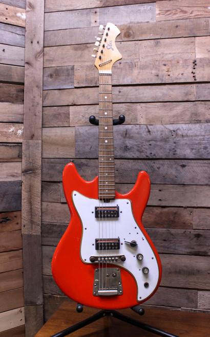 Jolana Vintage Soviet Star VII Electric Guitar - Set up and plays great!