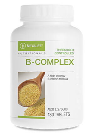 All 8 B vitamins in sustained release delivery form to support stress, energy and a healthy metabolism.