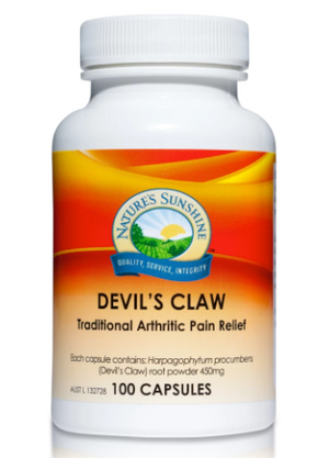 Devil's claw has traditionally been used to provide temporary relief of the pain of osteoarthritis due to its anti-inflammatory properties.