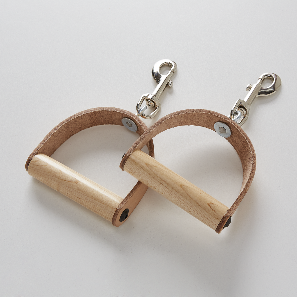 Leather Handles - Pair