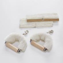 Handle Sheepskin Cover - Pair