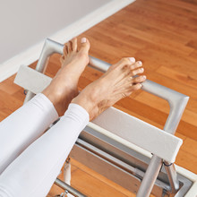 KRN Footboard and Heel Holder with Attachment (Sold in Pairs)