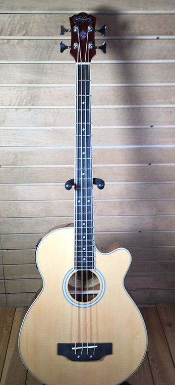 Washburn Acoustic Electric Bass Model AB5K