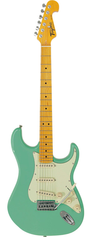 Tagima TG-530 Electric Guitar in Surf Green