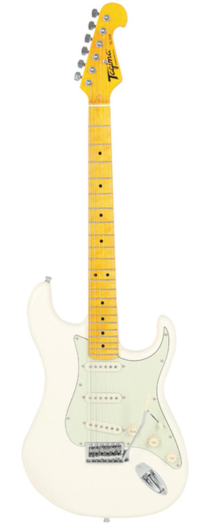 Tagima TG-530 Electric Guitar in White