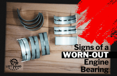 Signs of a Worn-Out Engine Bearing