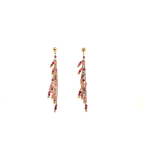Beaded Tassel Earrings | Brilliant Atlanta