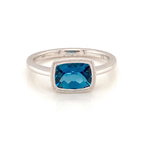 London Blue Topaz Ring | Brilliant Atlanta