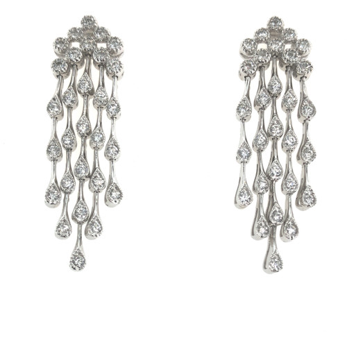 Diamond Chandelier Earrings | Brilliant Atlanta