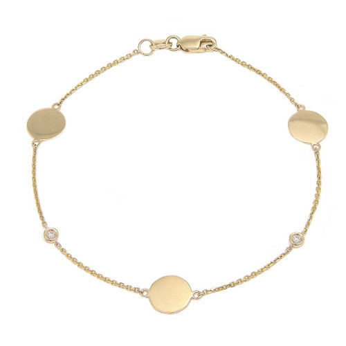 Diamond Disc Bracelet | Brilliant Atlanta