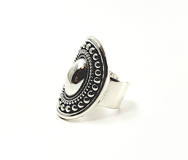Domed Adjustable Ring | Brilliant Atlanta