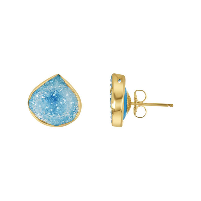 Druzy Stud Earrings | Brilliant Atlanta