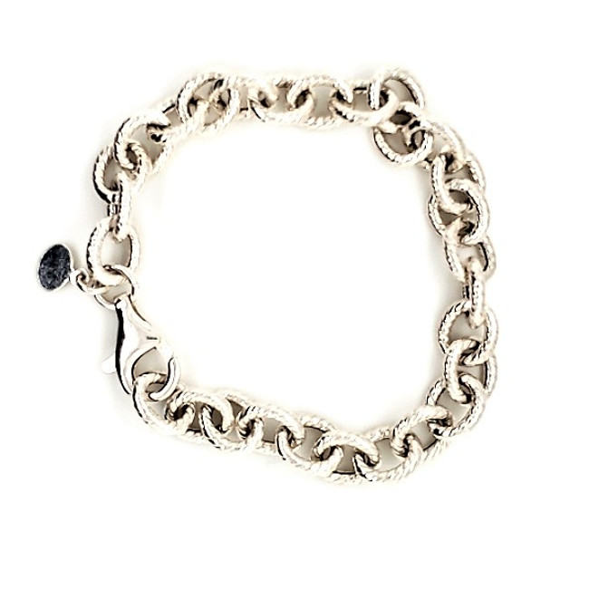 Etched Link Bracelet | Brilliant Atlanta