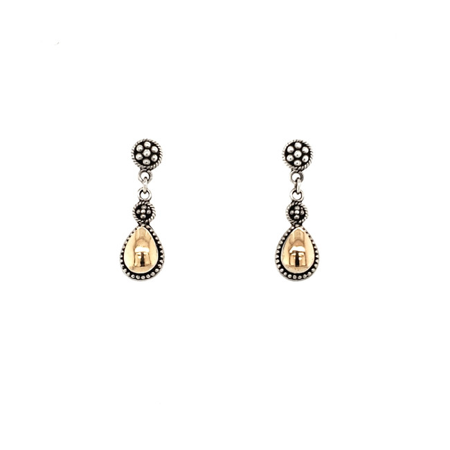Bali Teardrop Dangle Earrings | Brilliant Atlanta
