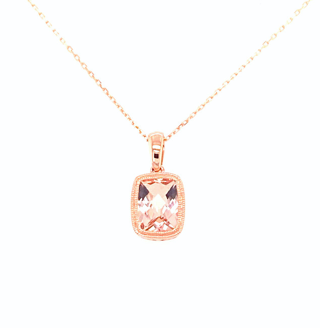 Morganite Necklace | Brilliant Atlanta