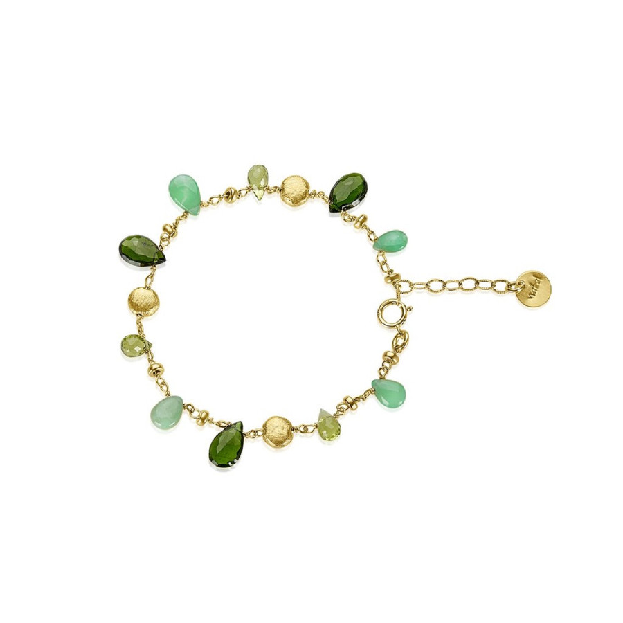 Semi-Precious Gemstone Bracelet | Brilliant - Custom Design Studio and Jewelry Boutique