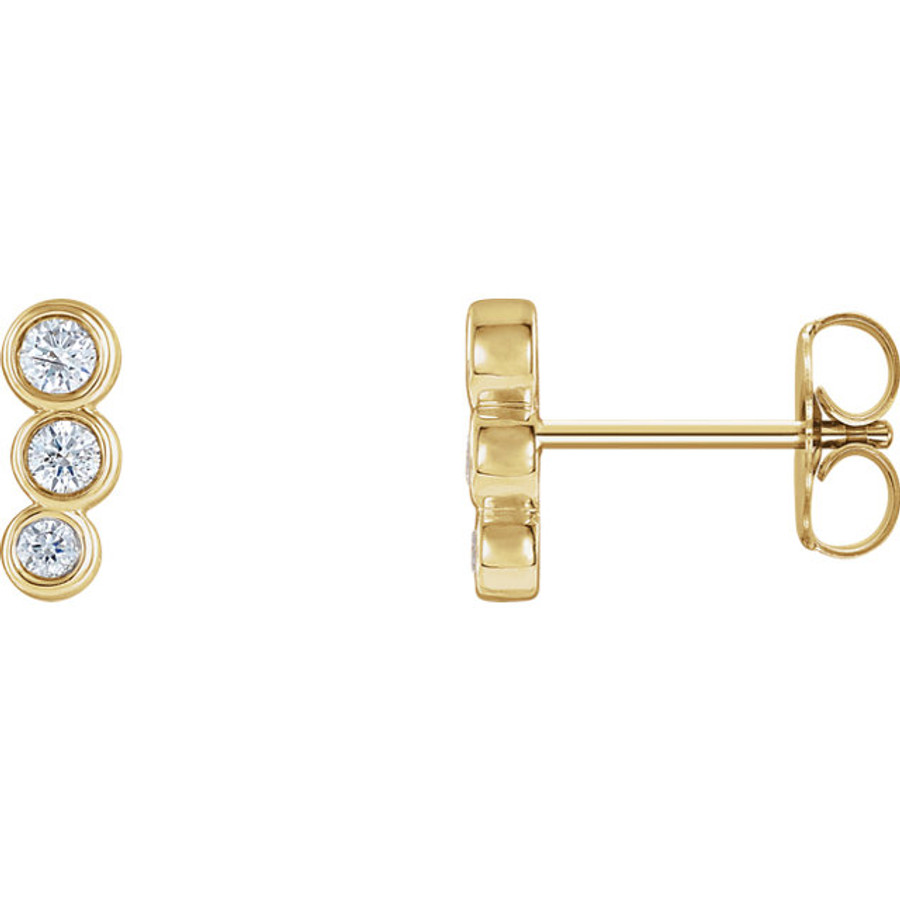 Petite Ear Climbers | Brilliant - Custom Design Studio and Jewelry Boutique