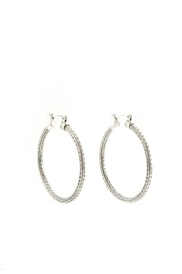 Woven Hoop Earrings | Brilliant - Custom Design Studio and Jewelry Boutique