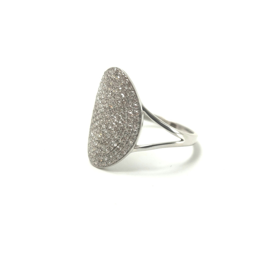 Pave Diamond Ring | Brilliant - Custom Design Studio and Jewelry Boutique