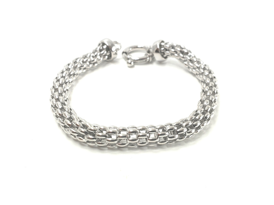 Hollow Woven Bracelet | Brilliant - Custom Design Studio and Jewelry Boutique