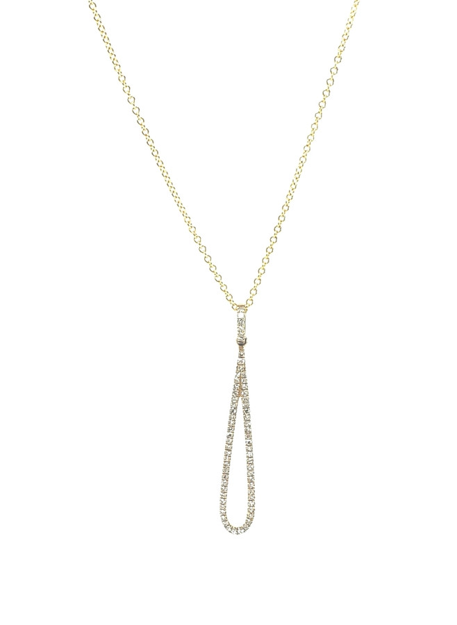 Teardrop Necklace | Brilliant Atlanta