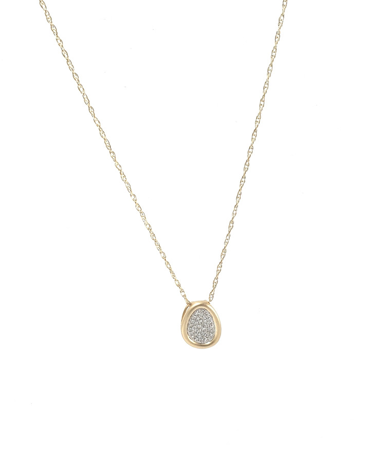 Pave Diamond Necklace | Brilliant Atlanta