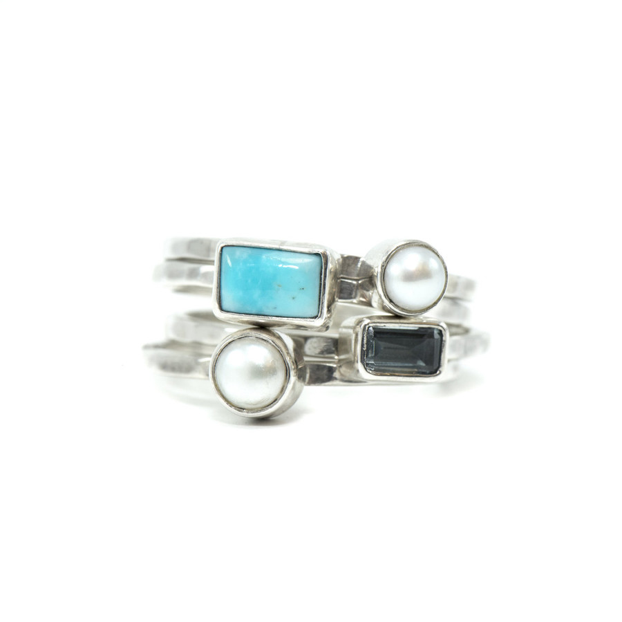 Stackable Sterling Silver Rings | Brilliant Atlanta