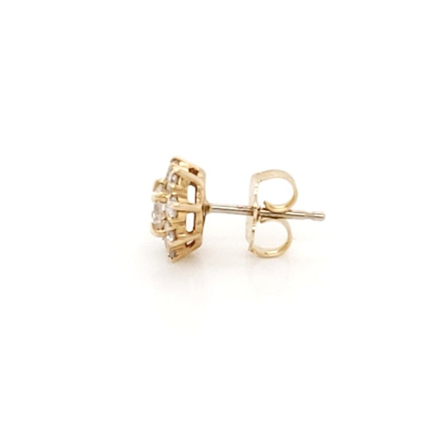 Diamond Cluster Studs | Brilliant Atlanta