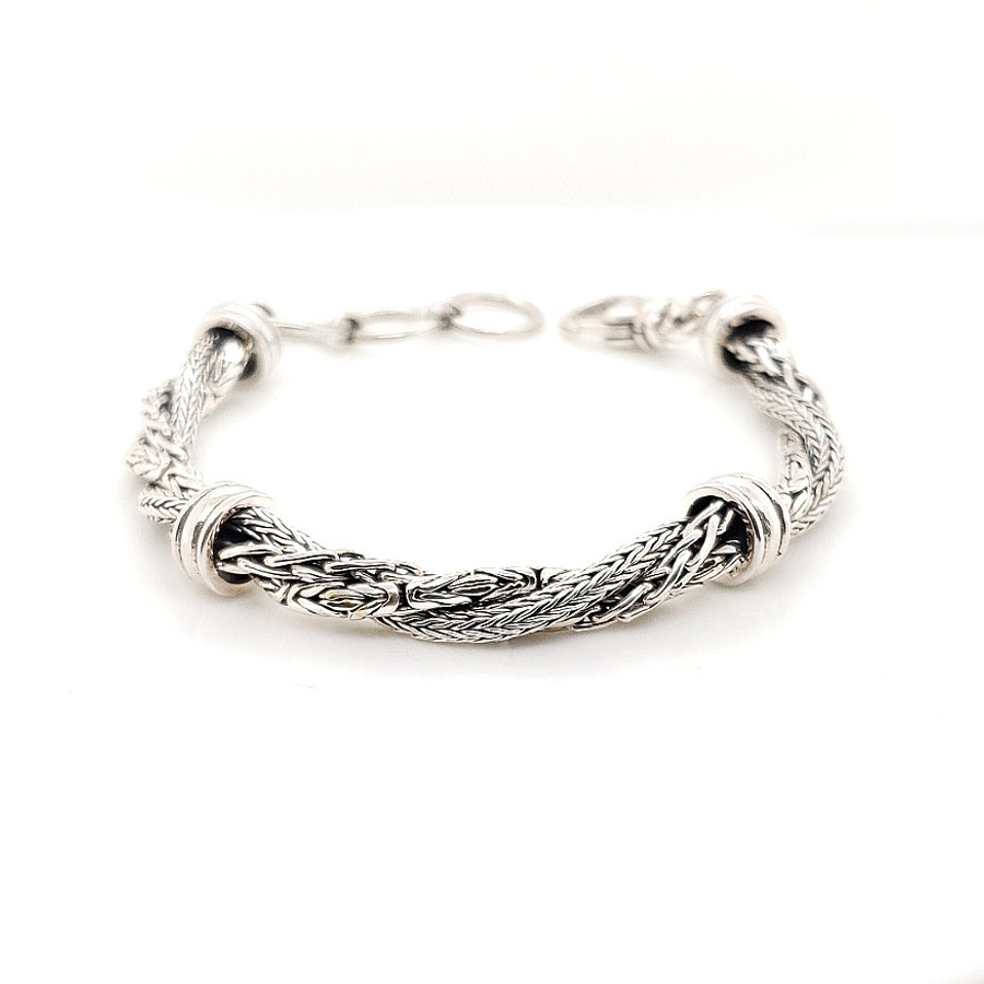 Triple Twist Adjustable Bracelet | Brilliant Atlanta