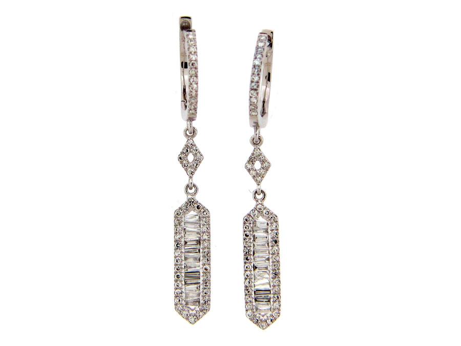 Diamond Dangle Earrings | Brilliant Atlanta