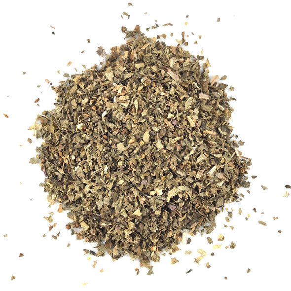 Basil Leaf, Sweet, Cut & Sifted, Organic -Hoja de Albahaca, Dulse, Organico