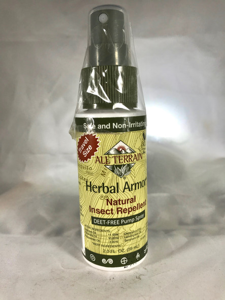 Insect Repellent, Herbal Armor, 2 fl. oz.- Mosquito Repellent Spray  - Repelente de Insectos, Herbal Armor