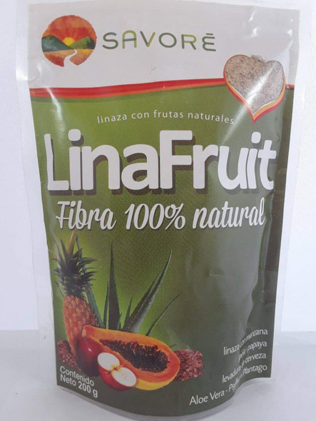 Flax with Fruit, 200 g.- Linaza con Frutas, 200 g