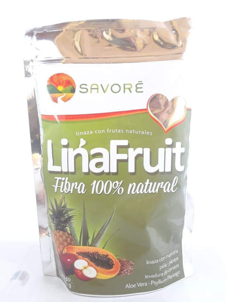 Flax and Fruit, 400 Gram - Linaza con Frutas, 400 G.