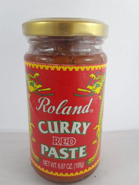 Curry Paste, Red, 6.8 oz. - .Pasta de Curry, Roja, 6.8 oz.