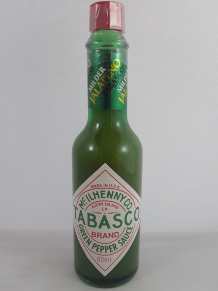 Green Pepper Sauce, 60 ML - .Salsa de Pimienta Verde, 60 ML
