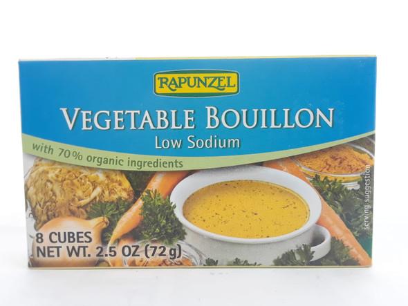 Vegetable Bouillon, Low Sodium, 2.5 oz. - Caldo de Verduras, Bajo en Sodio, 2.5 onzas