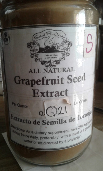 Grapefruit Seed Extract Powder, 10:1 - Polvo de Extracto de Semilla Toronja