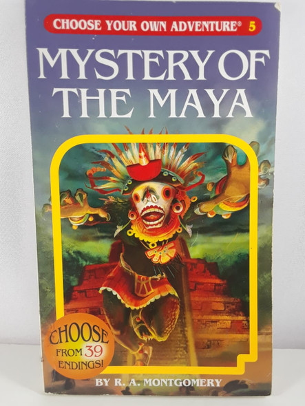 Mystery of the Maya - R.A. Montgomery