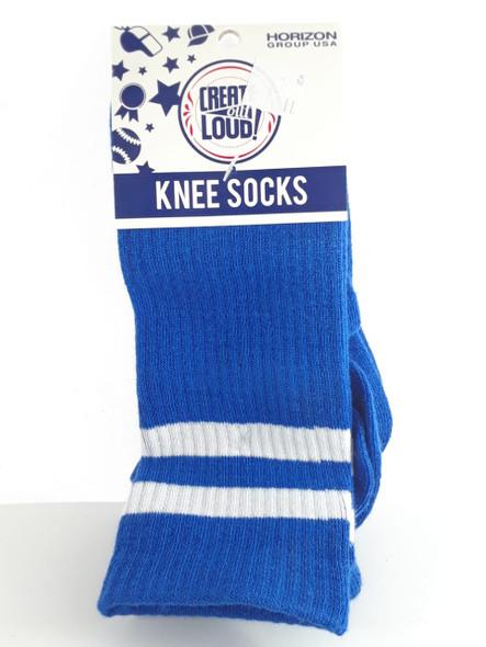 Knee Socks, Blue - Calcetines de Rodilla, Azul