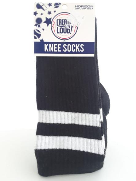 Knee Socks, Black - Calcetines de Rodilla, Negros