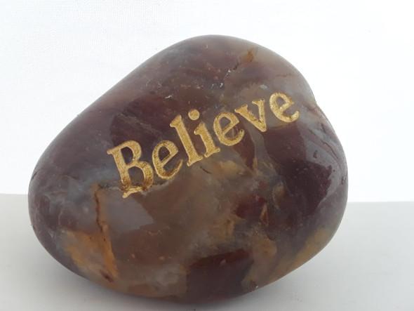 Inspiration Stone, Believe - Piedra de Inspiración, Creer