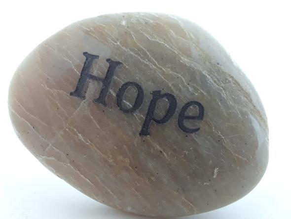 Inspiration Stone, Hope - Piedra de Inspiración, Esperanza