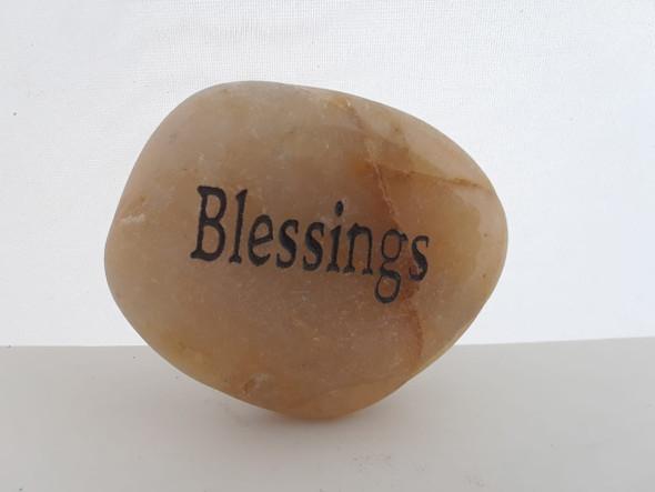 Inspiration Stone, Blessings - Piedra de Inspiración, Bendiciones