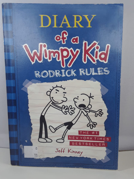 Diary of a Wimpy Kid, Rodrick Rules - Jeff Kinney