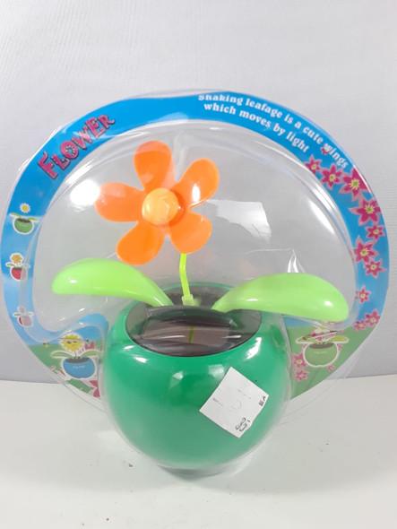 Solar Flower, Orange - Flor Solar, Naranja